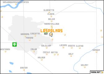 map of Las Palmas