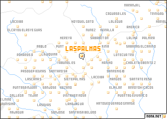 map of Las Palmas