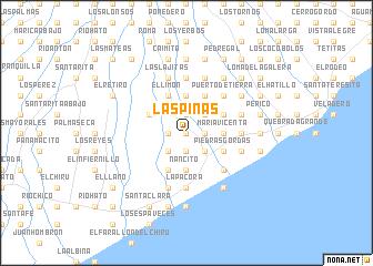 map of Las Piñas