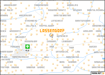map of Lassendorf