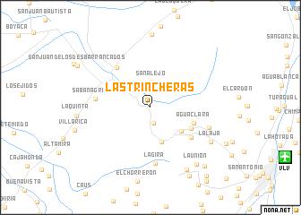 map of Las Trincheras