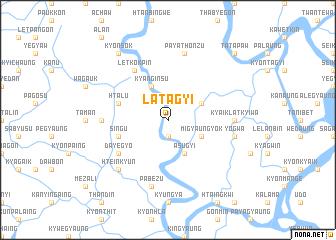 map of Latagyi