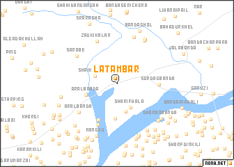 map of Latambar