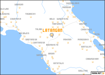 map of Latañgan