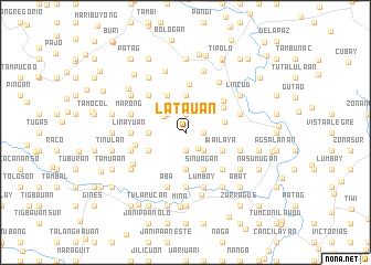 map of Latauan