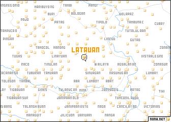 map of Latauan