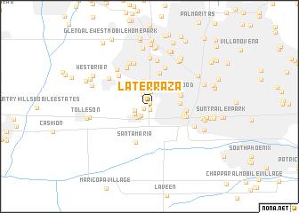map of La Terraza