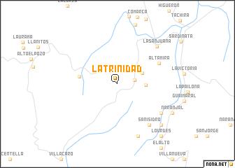map of La Trinidad