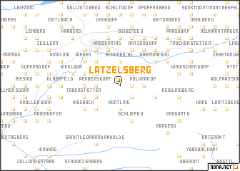 map of Latzelsberg