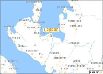 map of Lauang