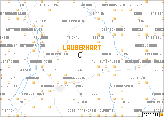 map of Lauberhart