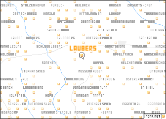 map of Laubers