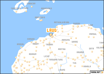 map of Laud