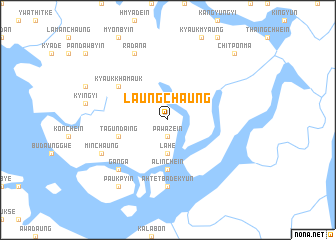 map of Laungchaung