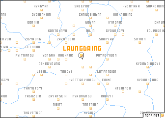 map of Laungdaing