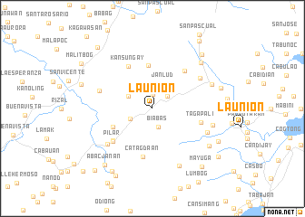 map of La Union