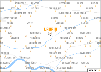 map of Laupin