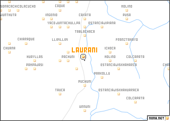 map of Laurani
