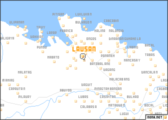 map of Lausan