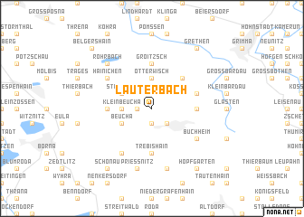 map of Lauterbach