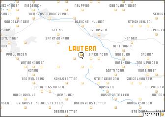 map of Lautern