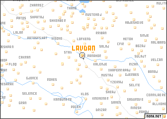 map of Lavdan