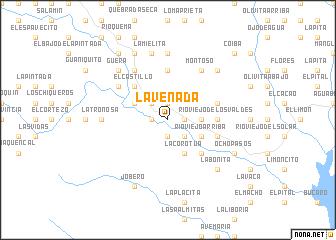 map of La Venada
