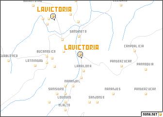 map of La Victoria