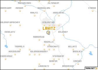 map of Lawitz