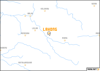 map of Lawong
