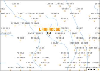 map of Lawwakodo