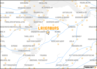 map of Laxenburg