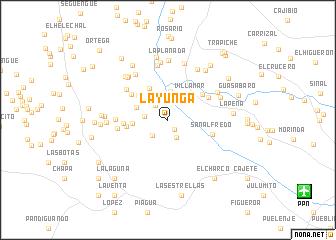 map of La Yunga