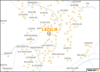 map of La Zulia