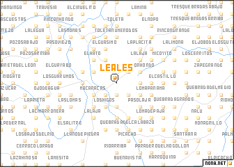 map of Leales