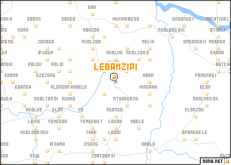 map of Lébamzip I