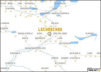 map of Lechaschau