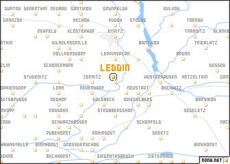 map of Leddin