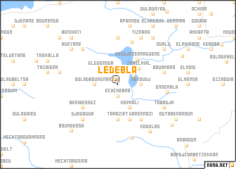 map of Ledebla