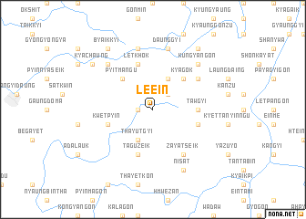 map of Le-ein