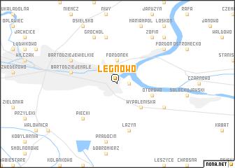 map of Łęgnowo