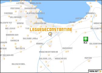 Le Gu de Constantine Algeria map nonanet