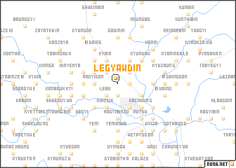 map of Legyawdin