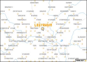 map of Legyawdin