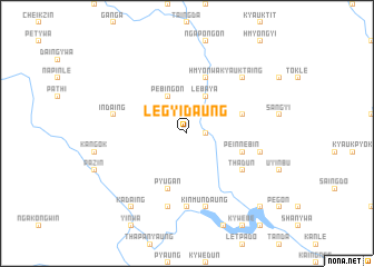 map of Legyidaung
