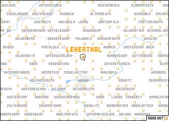 map of Lehenthal