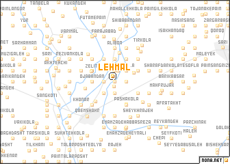 map of Lehmāl