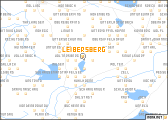 map of Leibersberg