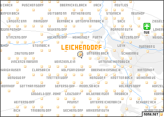 map of Leichendorf