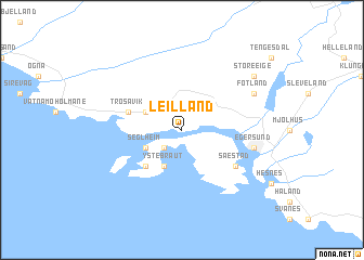 map of Leilland